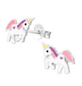 Precious jewels Precious jewels: oorstekers unicorn 02