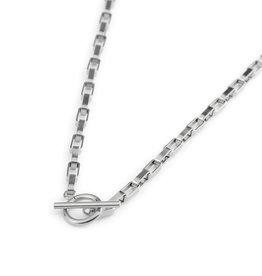Label kiki label kiki necklace big chain silver