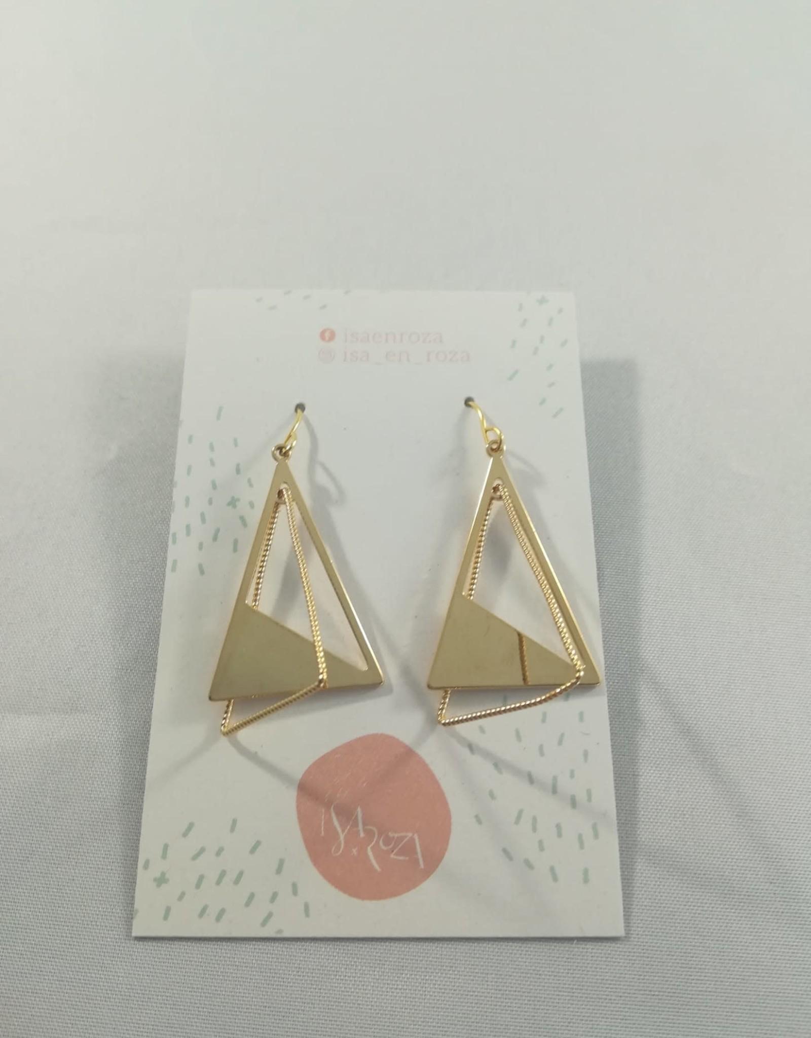 Isa en Roza Isa en Roza 071 hangers goudkleurig