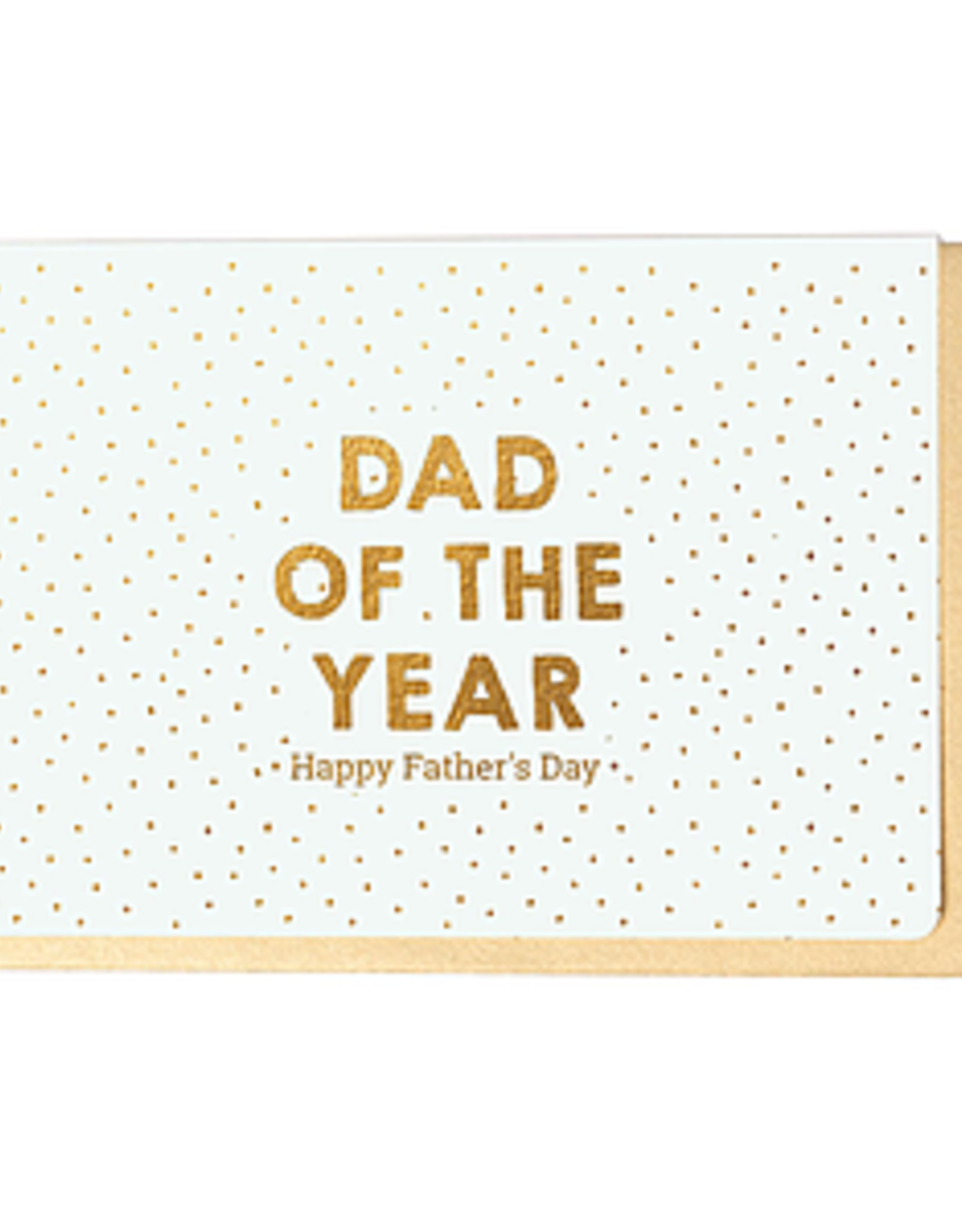 Enfant Terrible Dubbele wenskaart Enfant terrible: Dad of the year Happy father's day