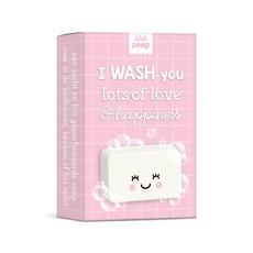 Studio schatkist Studio Schatkist zeep: I wash you lots of love & hapiness