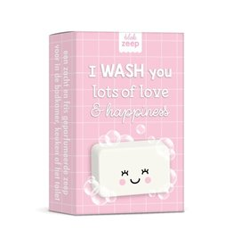 studio schatkist Studio Schatkist zeep: I wash you lots of love & hapiness