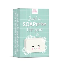 studio schatkist Studio Schatkist zeep: Just a SOAPrise for you