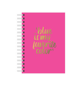 studio stationery Studio stationery A6 Notebook Blue is my favorite color