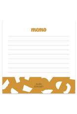 studio stationery Studio stationery Mini Memo Oker Confetti