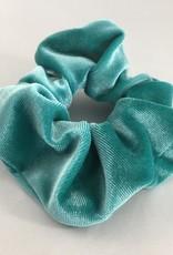 Yehwang Scrunchie velvet turquoise