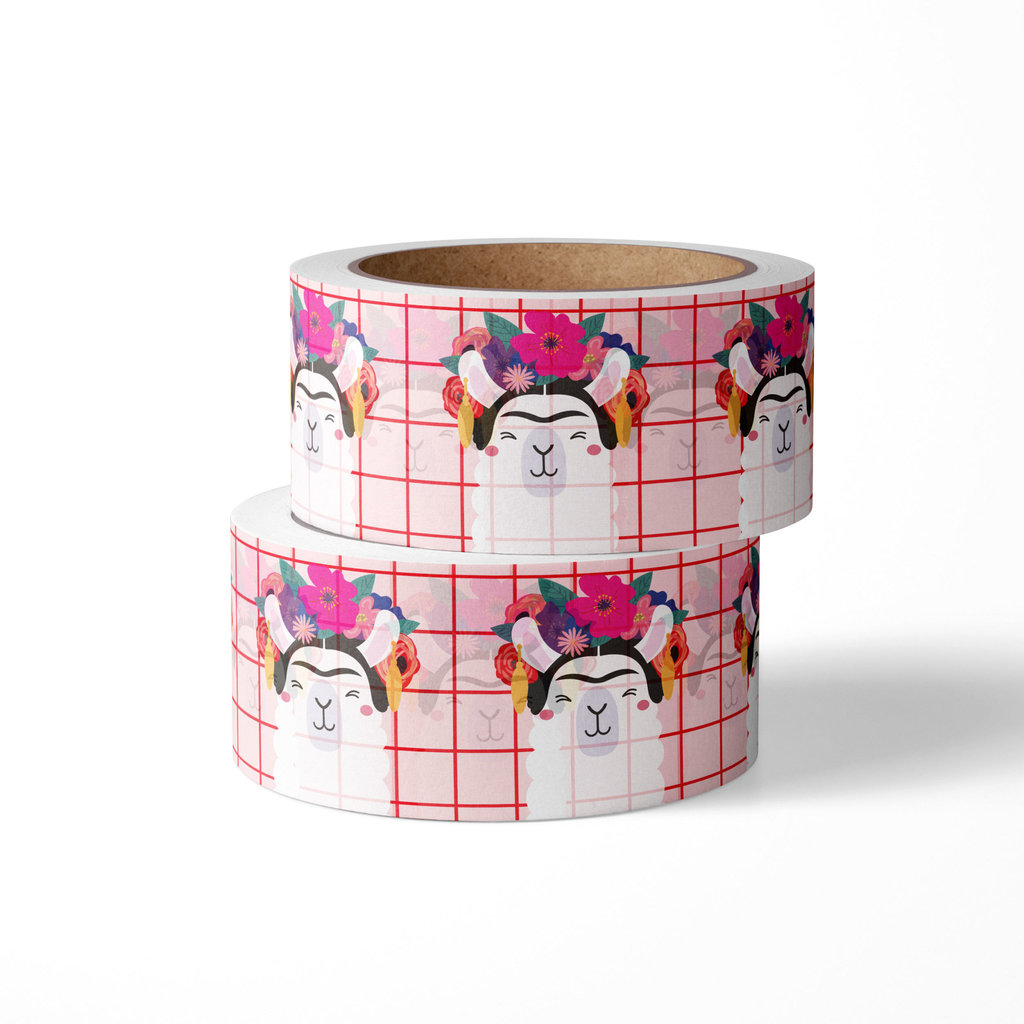 Studio inktvis studio inktvis washi tape Frida kahlo