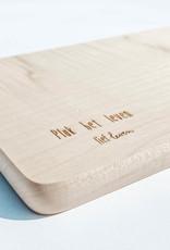 Lief leven lief leven Serveerplank hout • Pluk het leven
