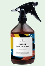the gift label The gift label homespray Damn good vibes (fresh cotton)
