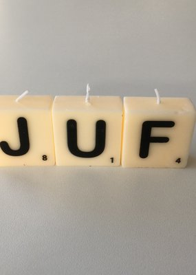 the gift label The gift label: kaarsjes JUF