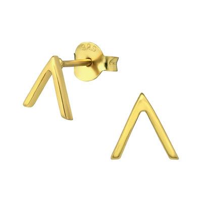 Precious jewels Precious jewels: oorstekers V goudkleurig