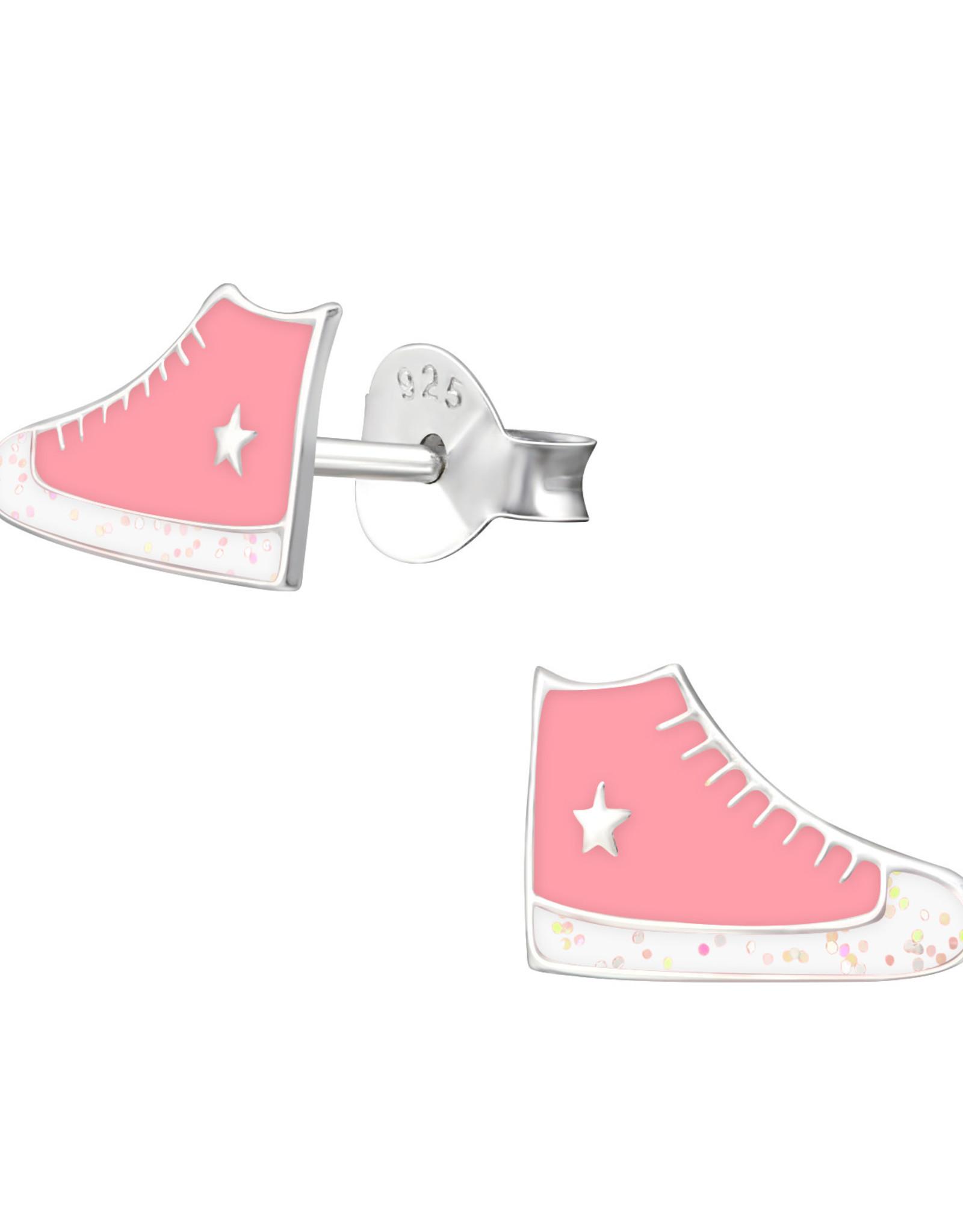 Precious jewels Precious jewels: oorstekers basketschoenen