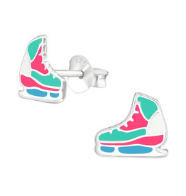 Precious jewels Precious jewels: oorstekers rolschaatsen