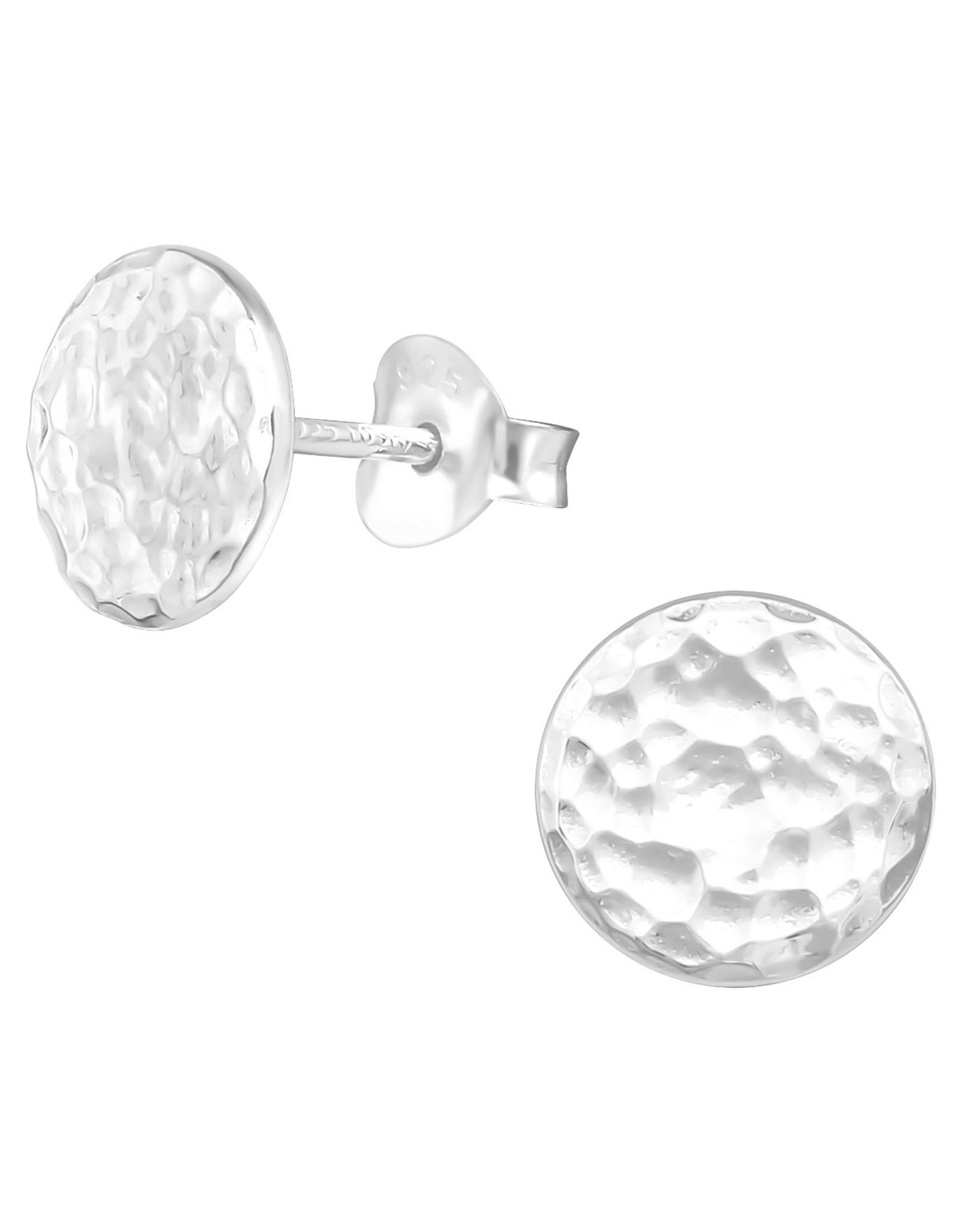 Precious jewels Precious jewels: hartjes cirkel oneffen zilverkleurig