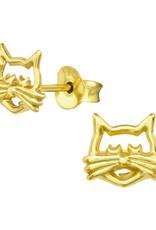 Precious jewels Precious jewels: kat goudkleurig