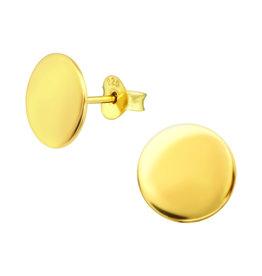 Precious jewels Precious jewels: cirkel glad goudkleurig