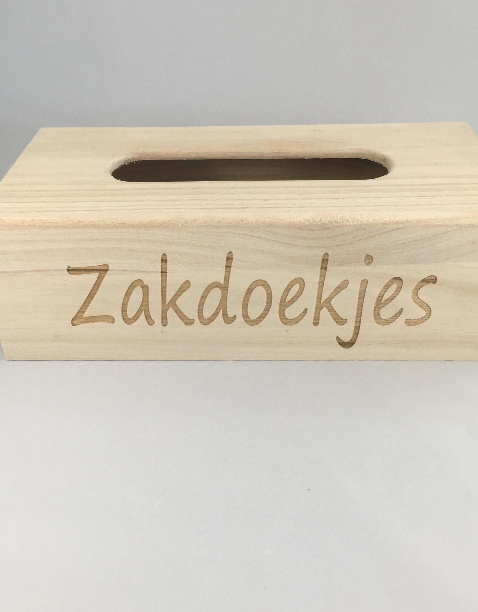 't Gelukske 't Gelukske: houten zakdoekdooshoes zakdoekjes