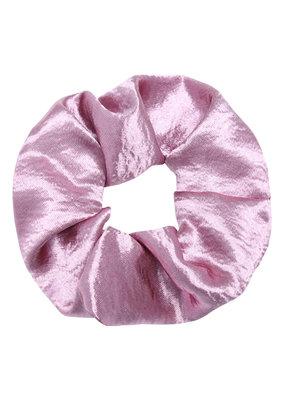 Yehwang Scrunchie soft as satin blinkend paars