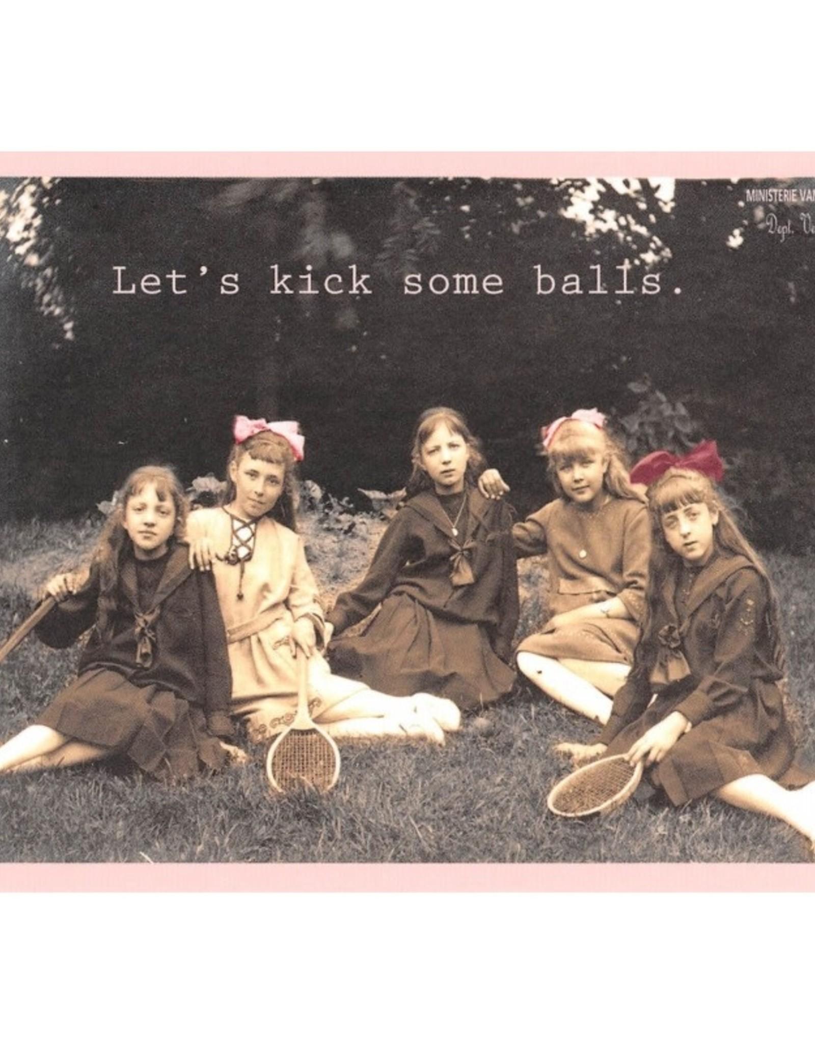 Ministerie van unieke zaken ministerie van unieke zaken kaart a 6 Let's kick some balls