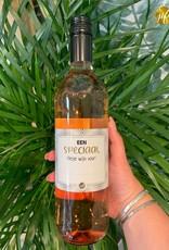"""The big gifts: wijnfles rosé """"een speciaal flesje wijn voor..."""""""