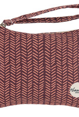 By lauren Amsterdam By Lauren Amsterdam HERRINGBONE BURGUNDY  clutch