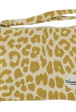 By lauren Amsterdam By Lauren Amsterdam giraffe ochre clutch