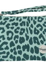 By lauren Amsterdam By Lauren Amsterdam blue leopard clutch
