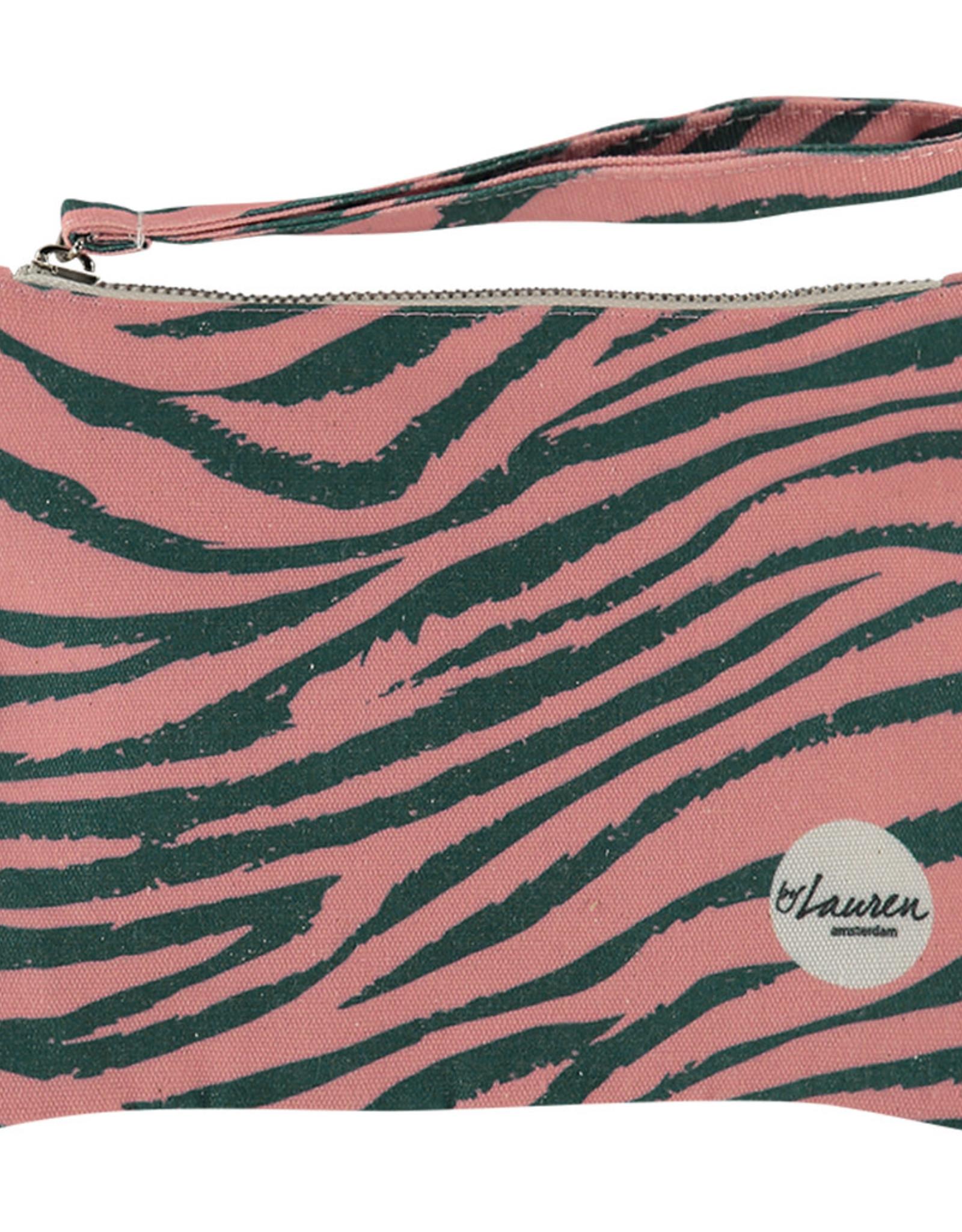 By lauren Amsterdam By Lauren Amsterdam tiger camuflage clutch