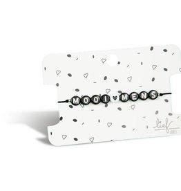Lief label Lief label 1 armbandje mooi mens