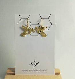 made by ellen Made by ellen 228 hangers goudkleurig kolibri