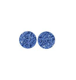 made by ellen Made by ellen 235 stekers plat 12mm spikkel blauw