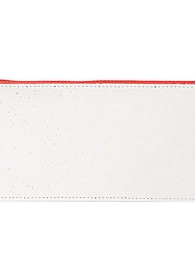 rico design rico design: platte pennenzak wit en zilver