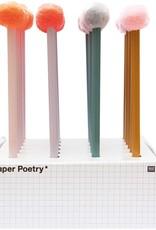 rico design rico design: grijs potlood pompon bruin