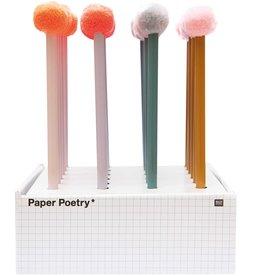rico design rico design: grijs potlood pompon lila