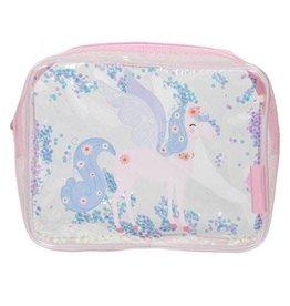 A little lovely company ALLC toilettasje glitter unicorn