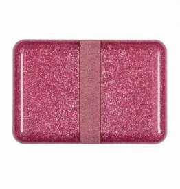 A little lovely company ALLC Lunchbox glitter roze