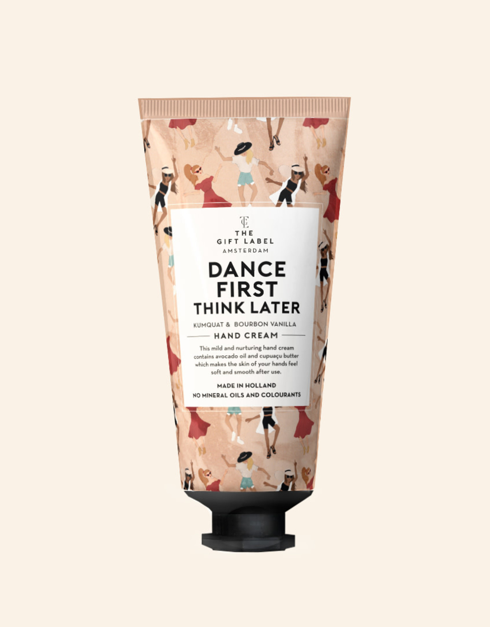 the gift label the gift label Hand cream tube Dance first think later