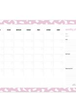 studio stationery Studio stationery A3 Monthly planner Confetti Lila