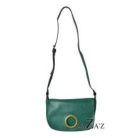 Zaza's Zaza's handtas cirkel groen