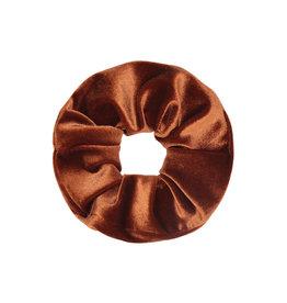 Musthaves Scrunchie sweet velvet roestbruin