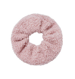 Musthaves Scrunchie soft teddy roze