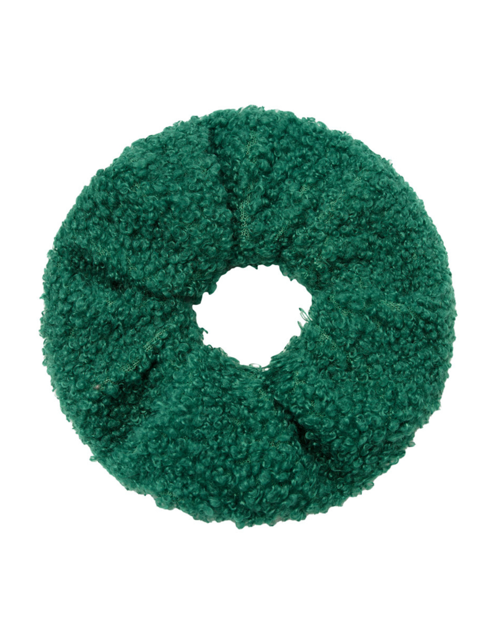 Musthaves Scrunchie soft teddy groen