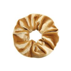 Scrunchie sweet velvet goud/beige
