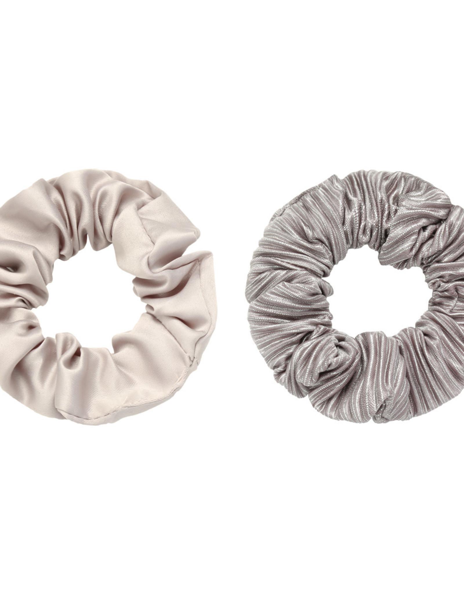 Musthaves Scrunchie 2 stuks grijs