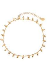 Yehwang Yehwang armbandje sweet beads gold