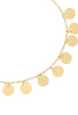 Yehwang Yehwang armbandje circles 2.0 gold