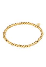 Yehwang Yehwang armbandje midi  beads  gold