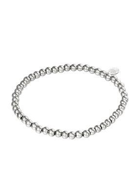 Yehwang Yehwang armbandje midi  beads  silver