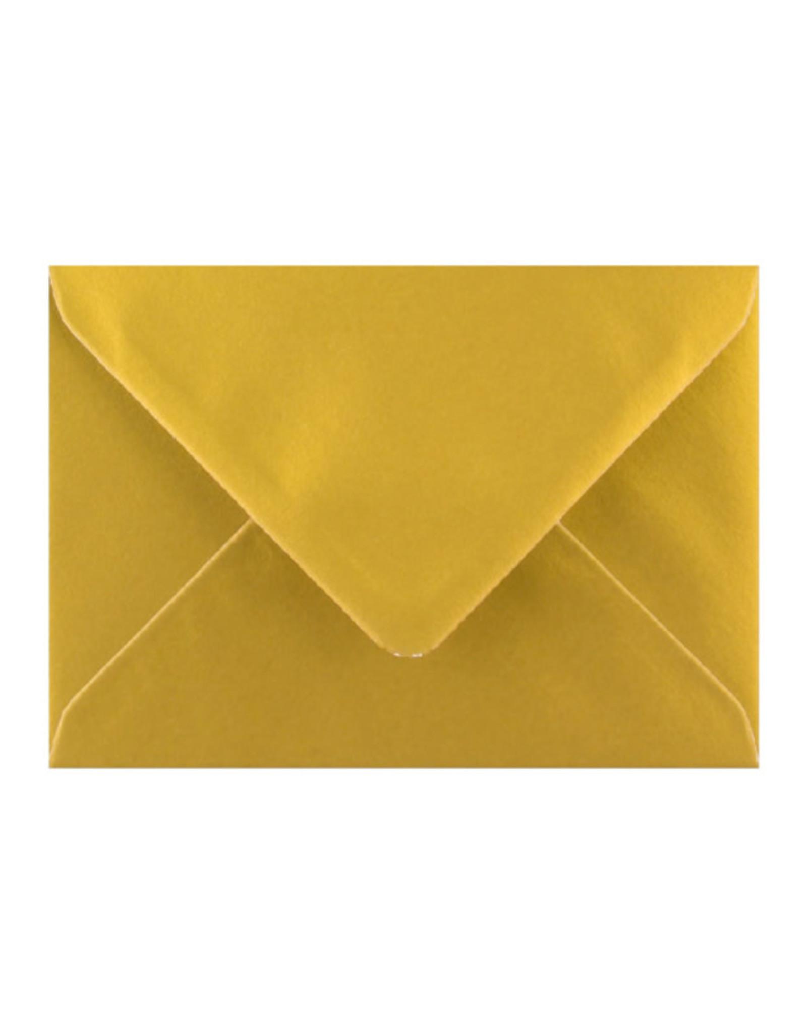 By romi by romi kaart a6 + gouden envelop: geluk