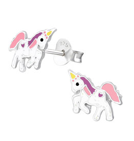 Precious jewels precious jewels oorstekers unicorn 002